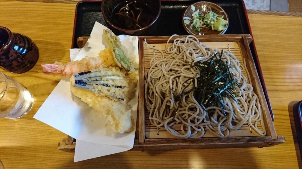 天ぷらざる蕎麦